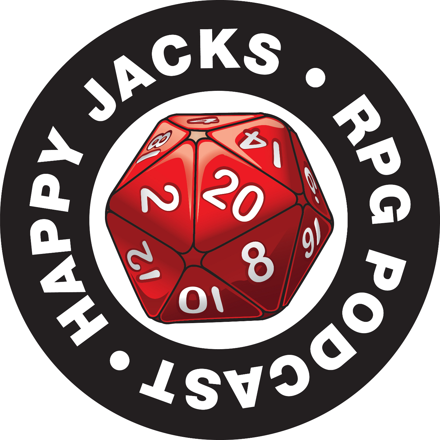 Happy Jacks RPG Podcast logo