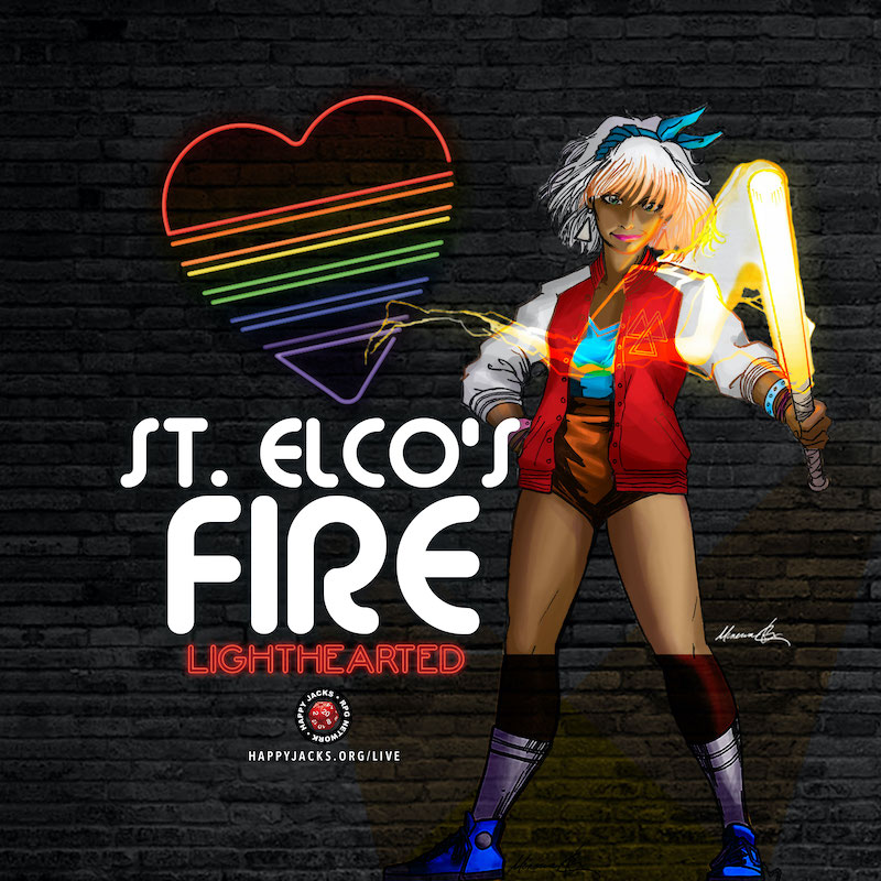 Link to Saint Elco's Fire Actual Play Page